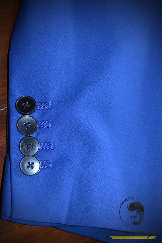 Dettagli della mia giacca da uomo personalizzata