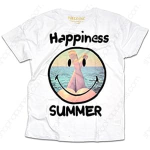 T-shirt Happiness: le nuove magliette in collaborazione con Smiley