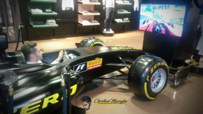 Pirelli Corso Venezia - Simulatore Formula 1