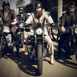 The Distinguished Gentleman's Ride: in sella, gentlemen!