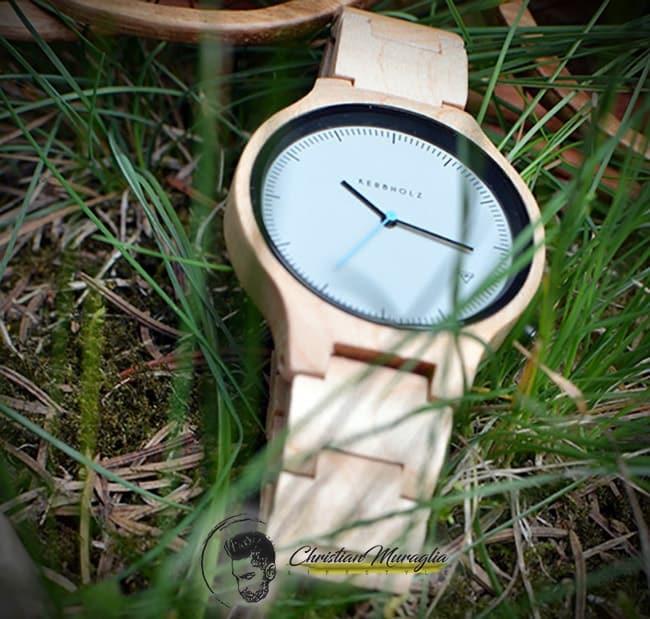 Orologi di legno - Il Lamprecht Maple di Kerbholz