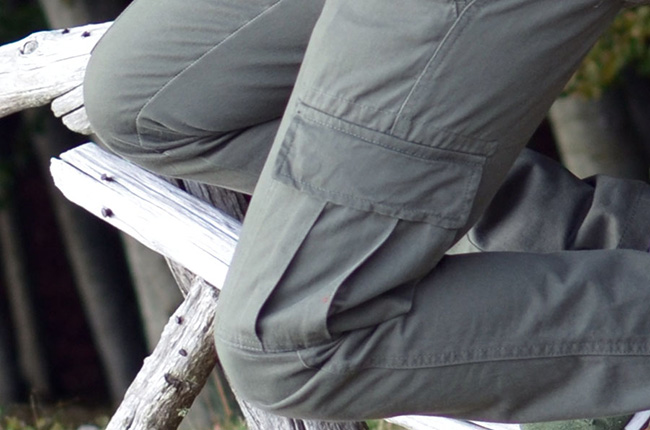 Pantalone in cotone con tasche laterali OVS