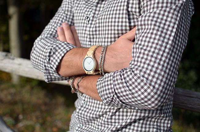 Camicia DelSiena ed orologio Kerbholz