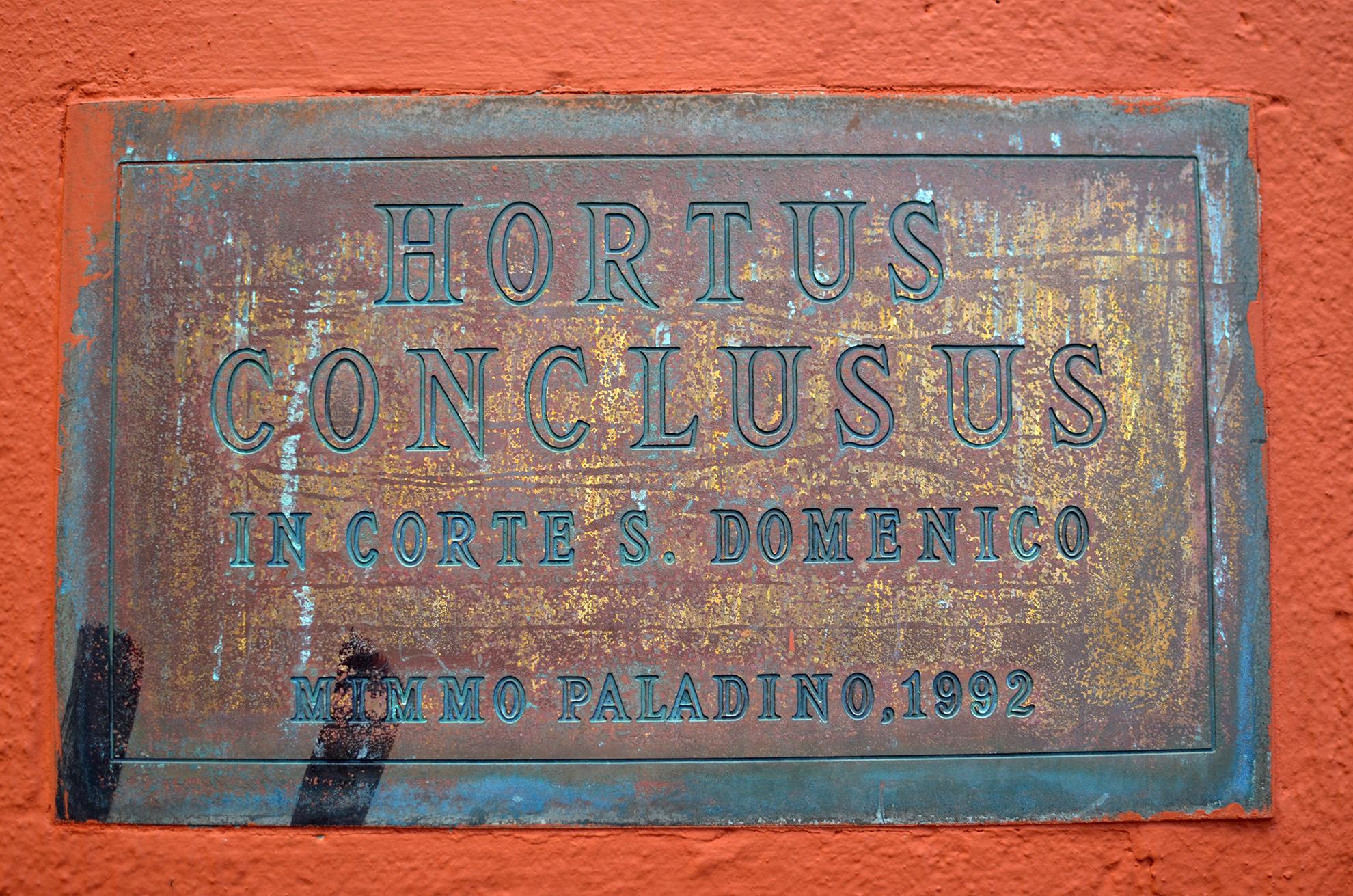 Hortus Conclusus di Benevento