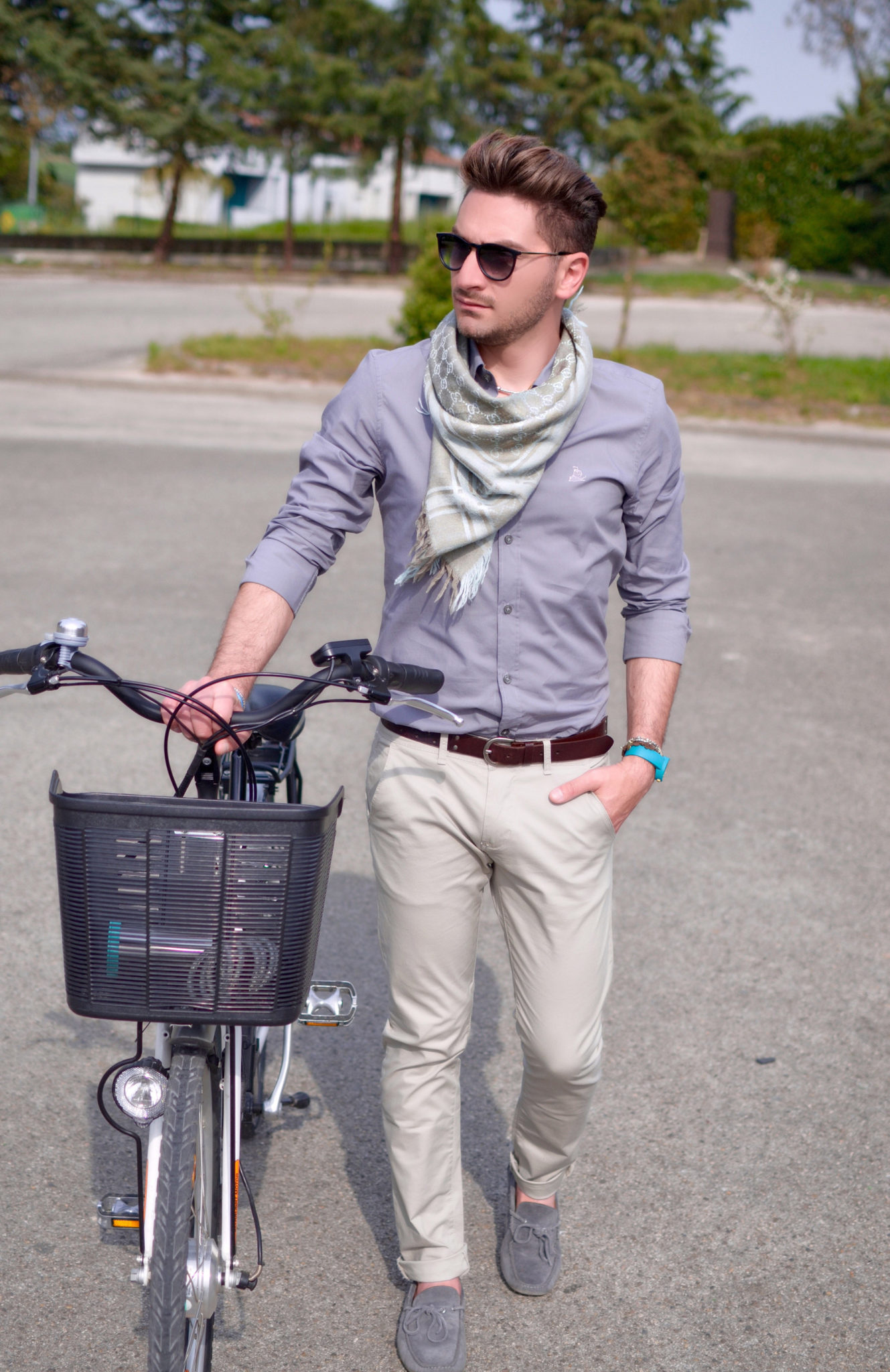 Passeggiando in bicicletta... | Foto Outfit