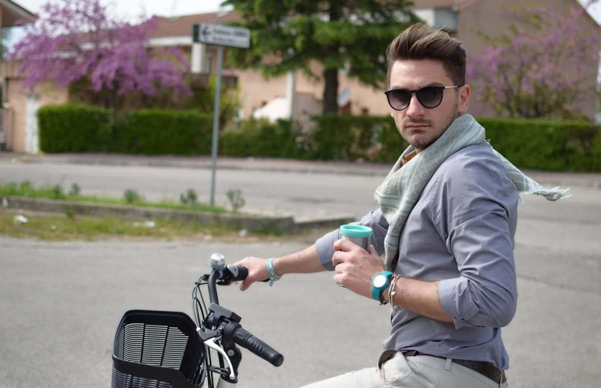 Passeggiando in bicicletta...