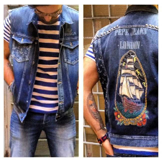 Pepe Jeans London Custom Studio