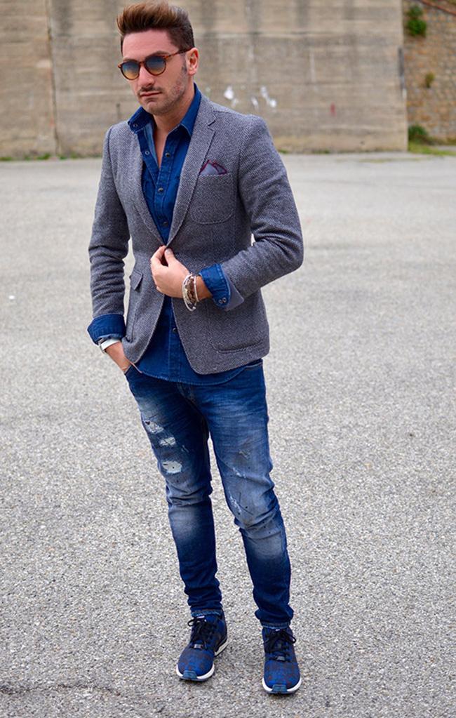 Denim mon amour | Outfit Uomo