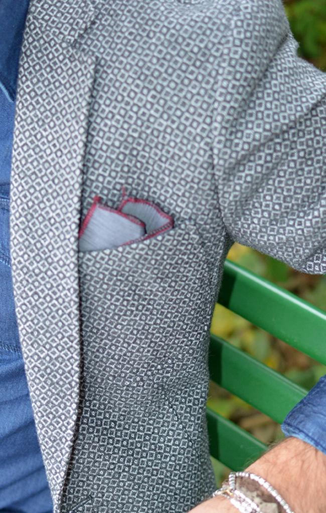 Giacca e pochette Xagon Man
