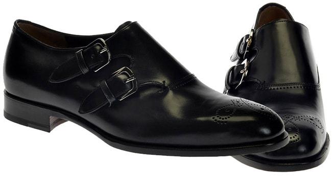 Le scarpe Monk strap derby firmate Fratelli Rossetti