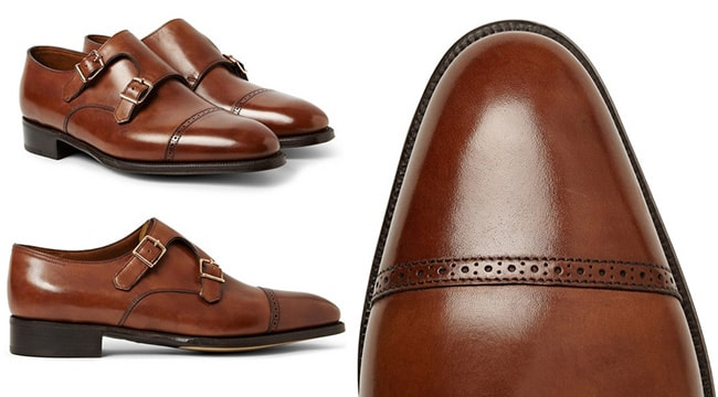 Le scarpe monk strap William II di John Lobb