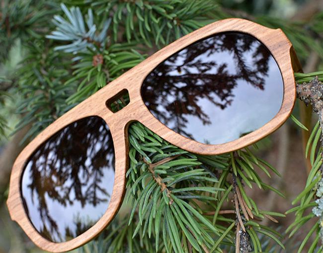 Kerbholz - Occhiali in legno