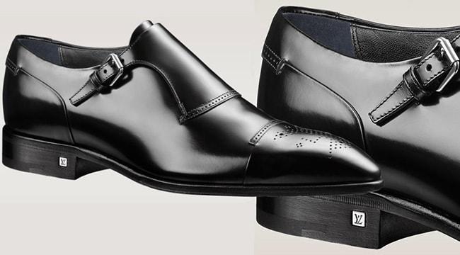 Le scarpe da uomo monk strap di Louis Vuitton