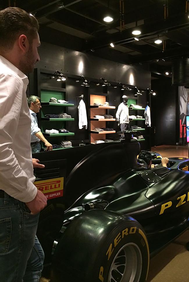 Pirelli store Corso Venezia - Milano
