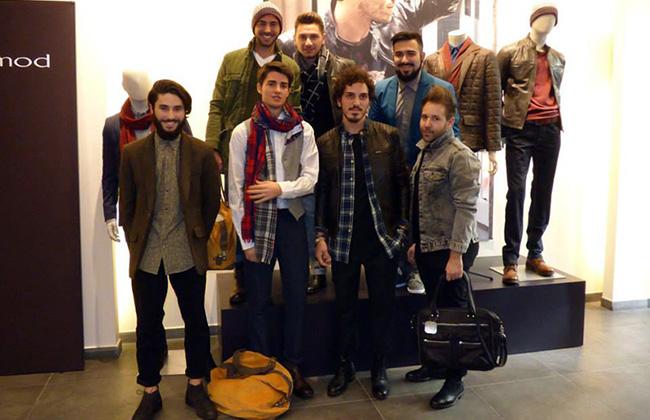 Io ed altri blogger alla presentazione della linea uomo Promod