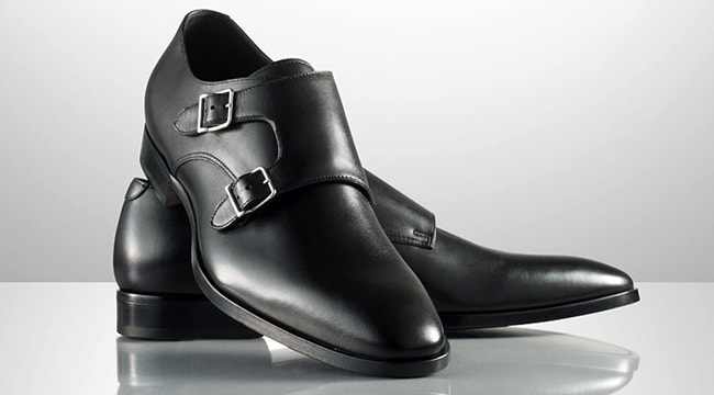 Ralph Lauren   Le scarpe Garvie monk strap