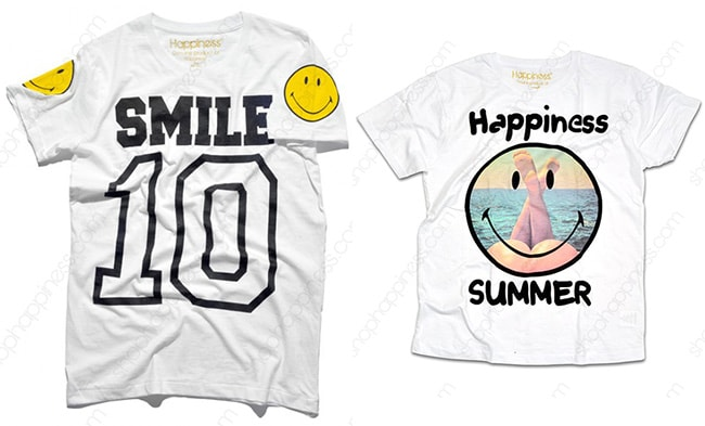 T-shirt Happiness Smiley