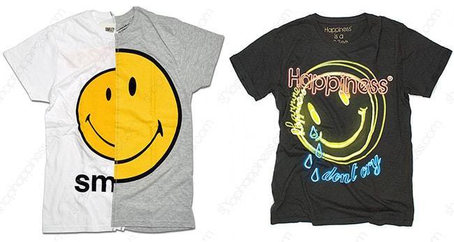 T-shirt HappinessSmiley