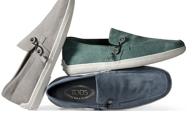 Tod's Envelope Boat Shoes