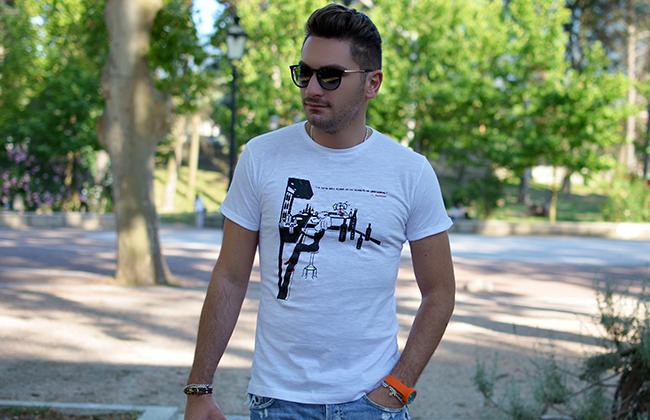 Gaspy! - T-shirt con frasi celebri