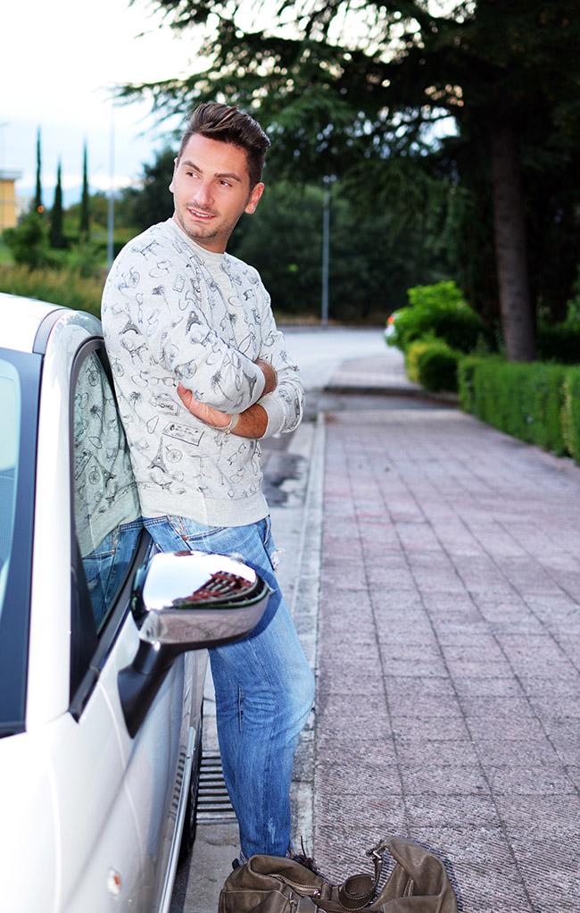 Sì, Viaggiare | Outfit Uomo