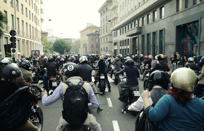 The Distinguished Gentleman's Ride 2014 - Milano
