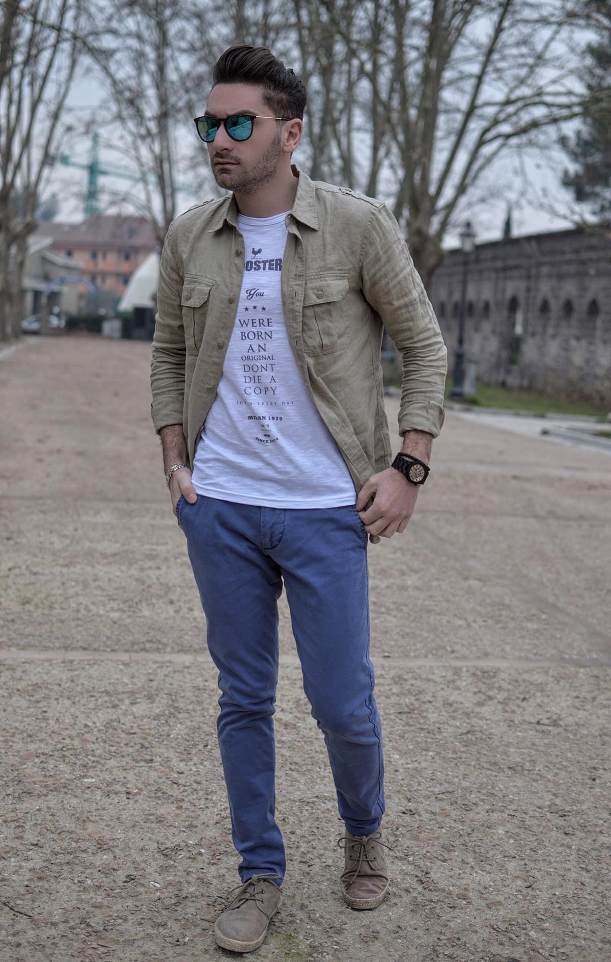 Dockers | Camicia e pantalone Primavera Estate 2016