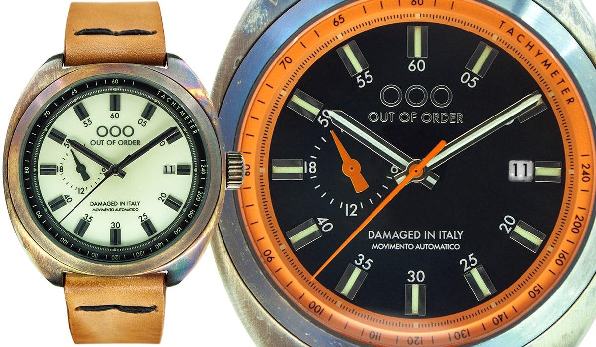 OOO OUT OF ORDER - L'orologio Torpedine