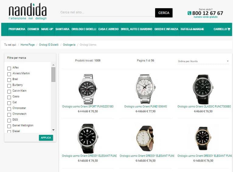 Orologi uomo - Nandida.com