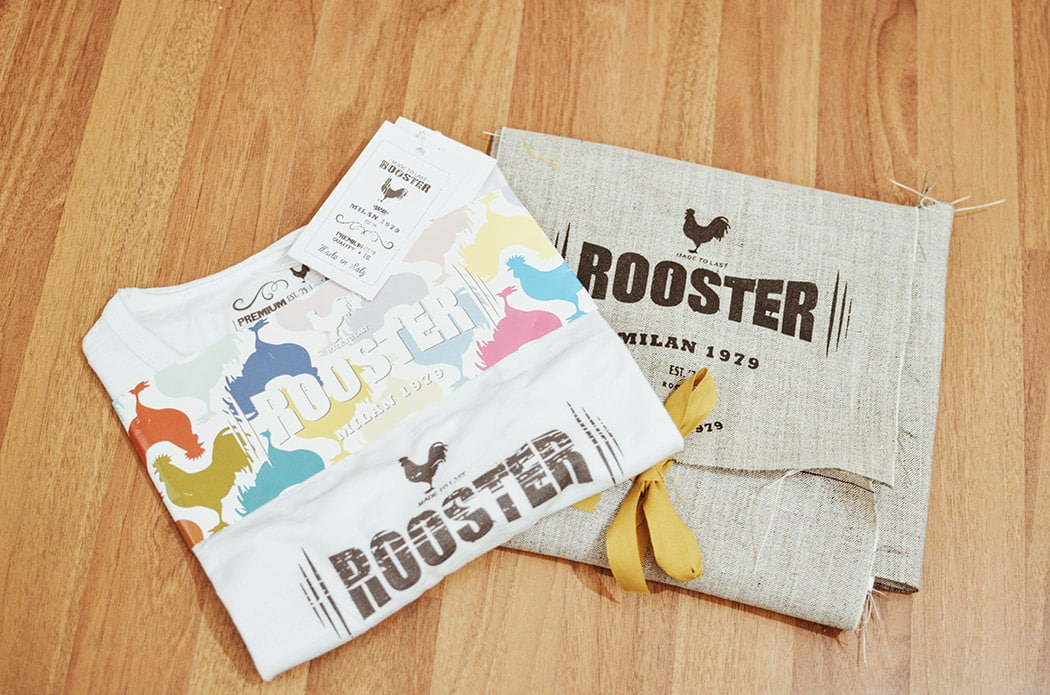 Rooster | T-shirt primavera estate 2016