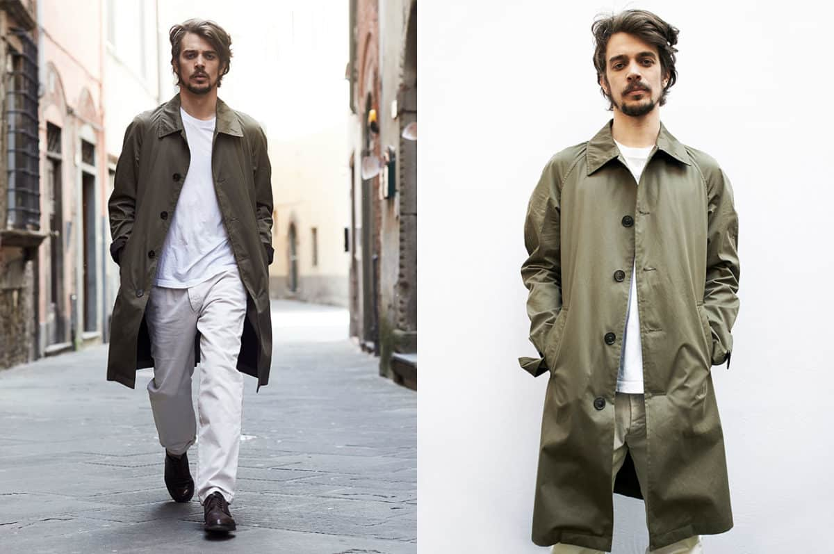 Il trench coat Paltò