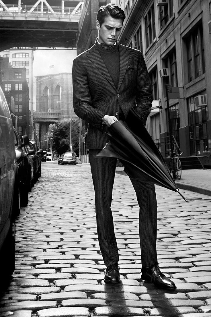 Rain man in NYC