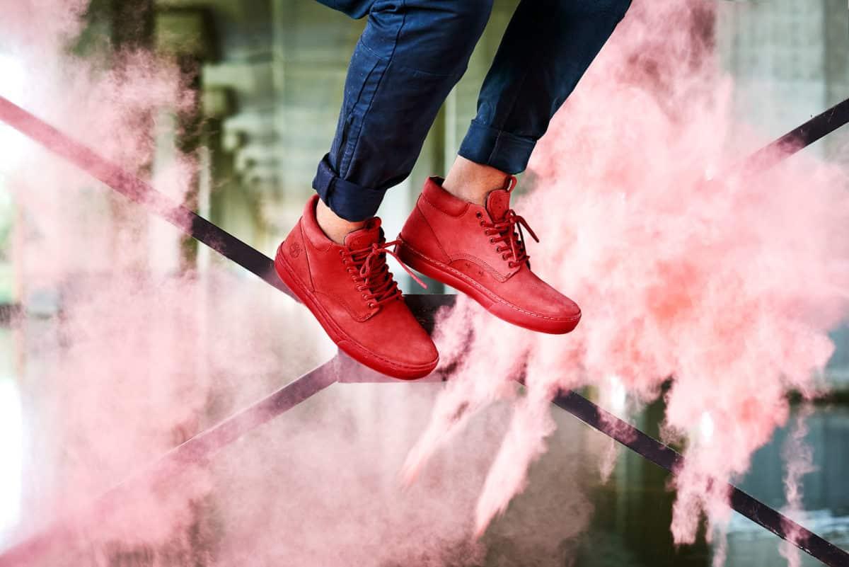 Sneaker Timberland Cupsole Adventure 2.0 Chukka - Rosso