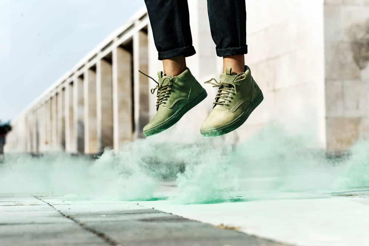 Sneaker Timberland Cupsole Adventure 2.0 Chukka - Verde