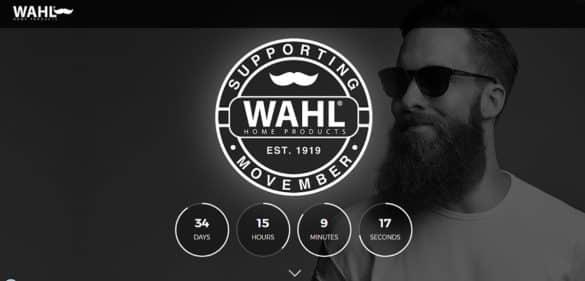 L'ecommerce creato da Wahl per sostenere la Movember Foundation