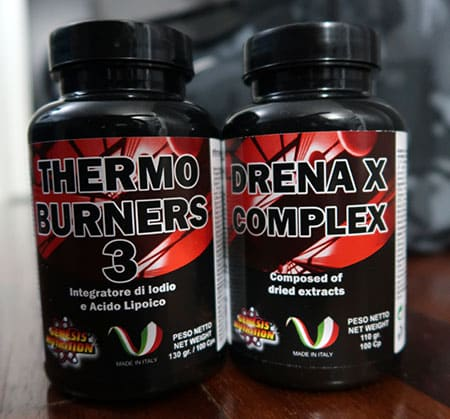 Integratori Genesis Nutrition - Thermo Burners 3 e Drenax Complex