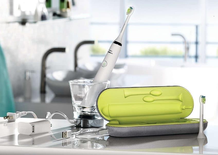 Lo spazzolino elettrico Philips Sonicare