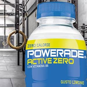 Powerade Active Zero: idratazione e gusto a zero calorie