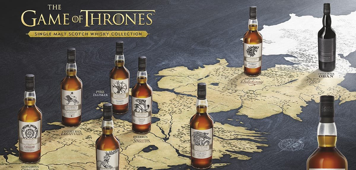 Game of Thrones Single Malt scotch whisky