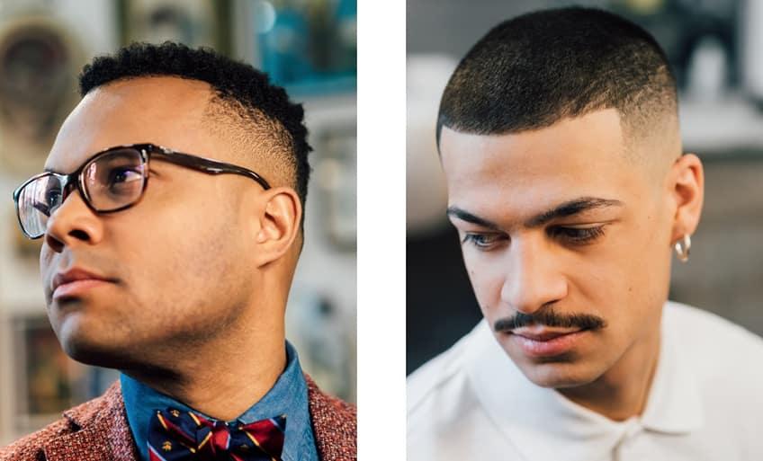 Tagli di capelli uomo Crew Cut e Bald Fade